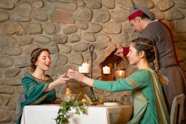 cena medievale pistoia